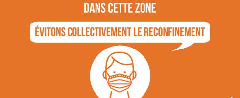 Obligation du Port du Masque : Nouvelles rues concernées.